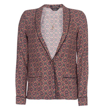 material Women Jackets / Blazers Scotch & Soda FROGK Prune
