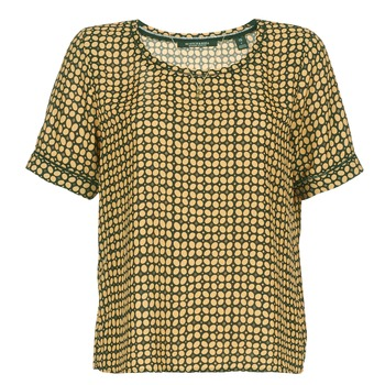 material Women Blouses Scotch & Soda SINIM Black / Mustard