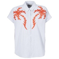 material Women Blouses Scotch & Soda NOFE Blue / White / Red