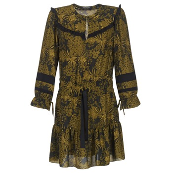 material Women Short Dresses Scotch & Soda NOONPL Kaki