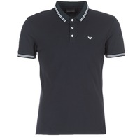 material Men short-sleeved polo shirts Emporio Armani TAMWU Marine