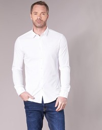 material Men long-sleeved shirts Emporio Armani BEWO White