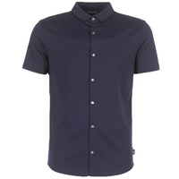 material Men short-sleeved shirts Emporio Armani BEWU Marine