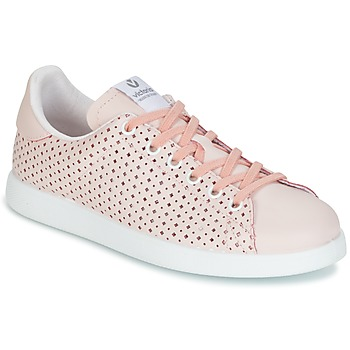 Shoes Women Low top trainers Victoria DEPORTIVO PIEL PERFORADO Pink