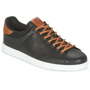 Shoes Men Low top trainers Victoria DEPORTIVO PU CONTRASTE Black