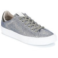 Shoes Women Low top trainers Victoria DEPORTIVO LUREX Silver