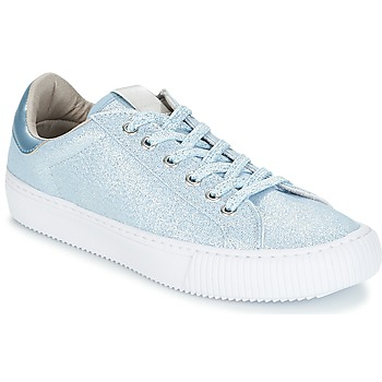 Shoes Women Low top trainers Victoria DEPORTIVO LUREX Blue