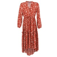 material Women Long Dresses Betty London HALETTE Red