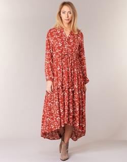 material Women Long Dresses Betty London HALETTE Red