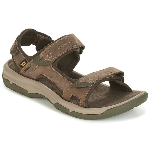 Shoes Men Sandals Teva LANGDON SANDAL Brown