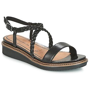 Shoes Women Sandals Tamaris GACAPIN Black