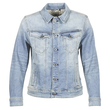 material Women Denim jackets G-Star Raw 3301 N BOYFRIEND DENIM JACKET Blue