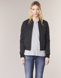 material Women Blouses G-Star Raw RACKAM SLIM BOMBER Black
