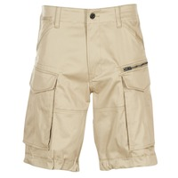 material Men Shorts / Bermudas G-Star Raw ROVIC ZIP LOOSE 1/2 Beige