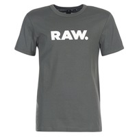 material Men short-sleeved t-shirts G-Star Raw HOLORN R T S/S Grey