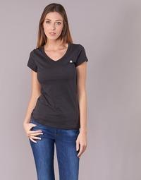 material Women short-sleeved t-shirts G-Star Raw EYBEN SLIM V T WMN S/S Black