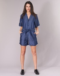 material Women Jumpsuits / Dungarees G-Star Raw BRONSON SHORT JUMPSUIT Blue