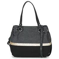 Bags Women Shoulder bags Fuchsia GAUTIER 6 Black / Grey