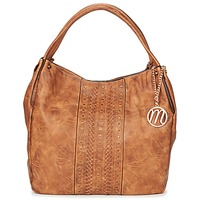 Bags Women Shoulder bags Moony Mood HURTIL Cognac
