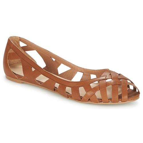 Shoes Women Sandals Jonak DERAY Cognac