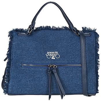 Bags Women Handbags Le Temps des Cerises EMILY 2 Blue