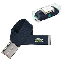 Clothes accessories Men Belts Lacoste RC2012 Marine
