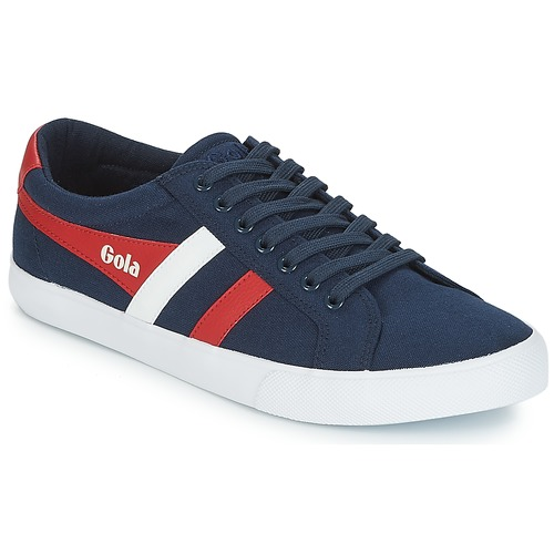 Shoes Men Low top trainers Gola VARSITY Marine / White / Red
