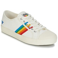 Shoes Women Low top trainers Gola COASTER RAINBOW White