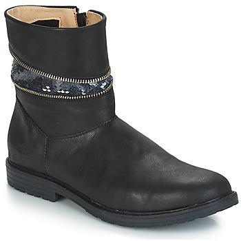 Shoes Girl Ankle boots GBB MAFALDA Black