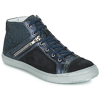 Shoes Girl High top trainers GBB KAMI Black / Blue