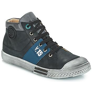 Shoes Boy Mid boots GBB RUFINO Black