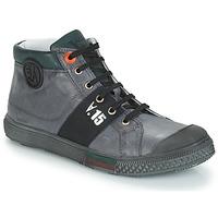 Shoes Boy Boots GBB RUFINO Nuv / Grey / Dpf / Lucky
