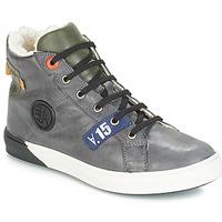 Shoes Boy Boots GBB SILVIO Nuv / Gray-green / Dch / Evoque