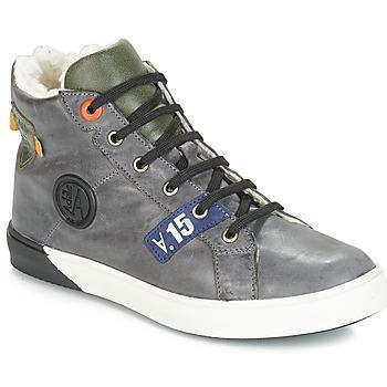 Shoes Boy High top trainers GBB SILVIO Grey