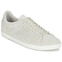 Shoes Women Low top trainers Le Coq Sportif CHARLINE NUBUCK Beige