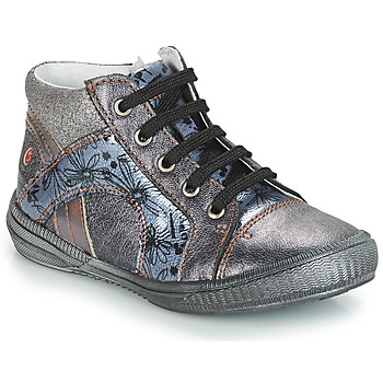 Shoes Girl High top trainers GBB ROSETTA Grey / Blue