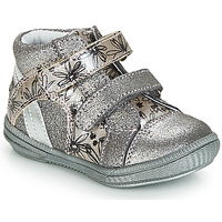 Shoes Girl High top trainers GBB ROXANE Silver