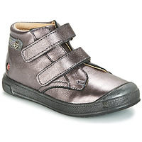 Shoes Girl High top trainers GBB RACHEL Violet / Metallic