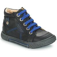 Shoes Boy High top trainers GBB RAYMOND Black