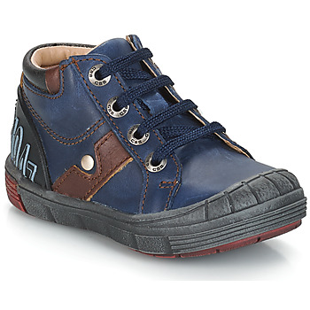 Shoes Children Mid boots GBB REINOLD Blue