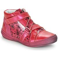 Shoes Girl High top trainers GBB RADEGONDE Pink