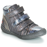 Shoes Girl Mid boots GBB RAFAELE Blue / Grey