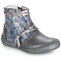 Shoes Girl Boots GBB REVA Grey / Blue-prints / Dpf / Sabina