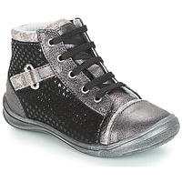 Shoes Girl High top trainers GBB ROMIE Black / Grey