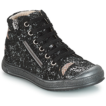 Shoes Girl High top trainers GBB DESTINY Black