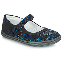 Shoes Girl Ballerinas GBB PLACIDA Blue / Black