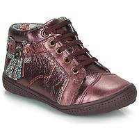 Shoes Girl Mid boots Catimini RHUBARBE Vte / Bordo / Dpf / 2852