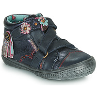 Shoes Girl Mid boots Catimini ROQUETTE Marine