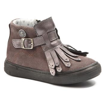 Shoes Girl Mid boots Catimini RUTABAGA Ctv / Wood / De / Pink / Dpf