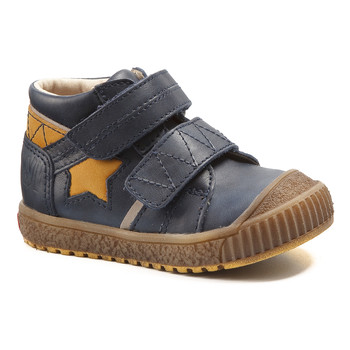 Shoes Boy Mid boots Catimini RADIS Vte / Marine-ocre / Dpf / Linux
